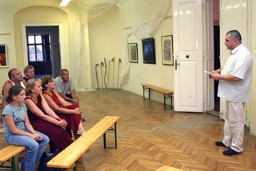Koller Zsolt író-történész könyvbemutatóján