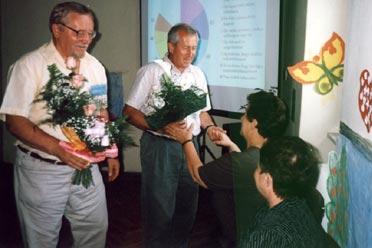 Virágköszöntő (Fotó: Farkas Tibor)