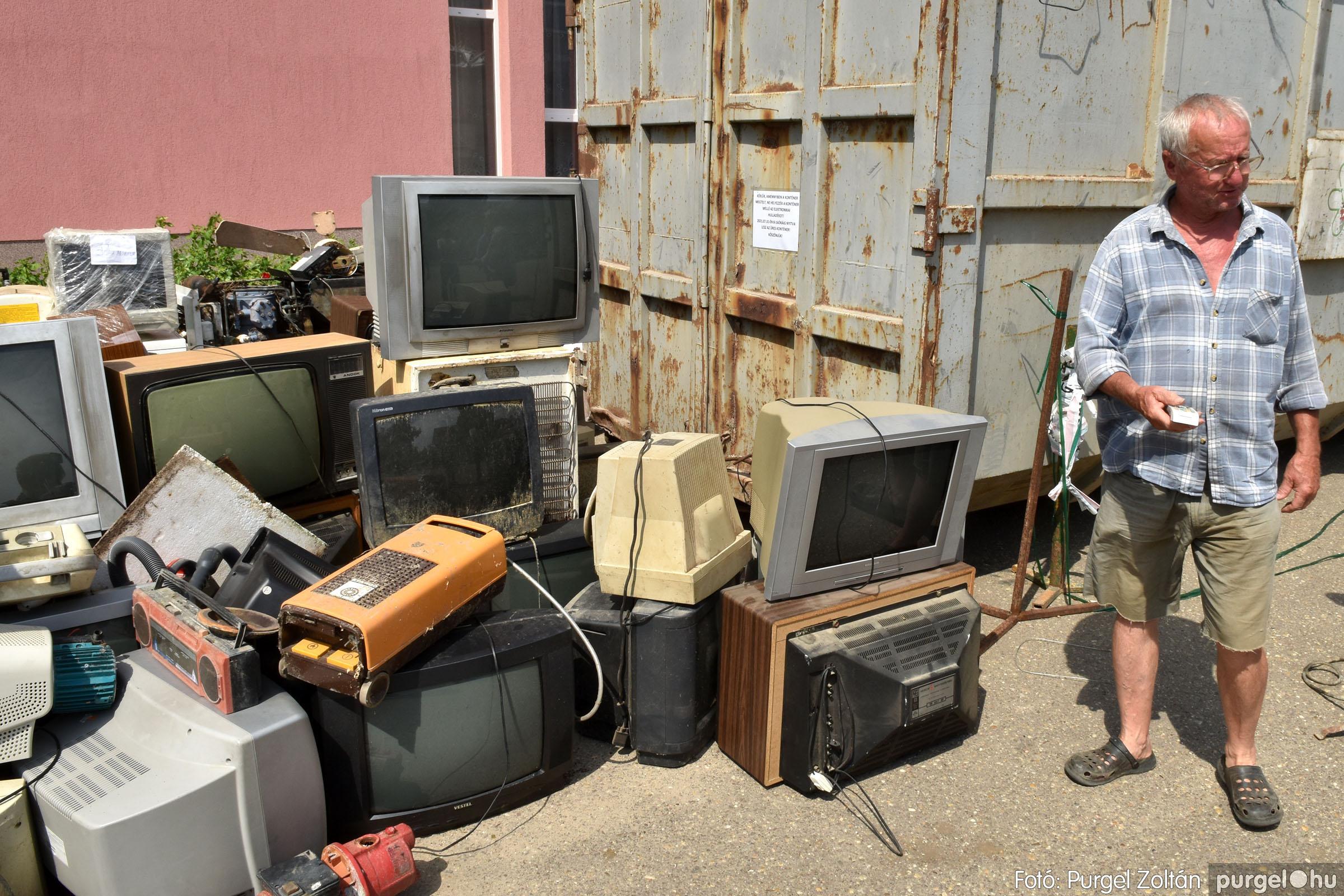 2021.08.01. 005 Elektronikai hulladékgyűjtés – Fotó:PURGEL ZOLTÁN© DSC_8567q